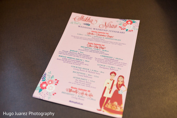 Indian wedding creative invitation