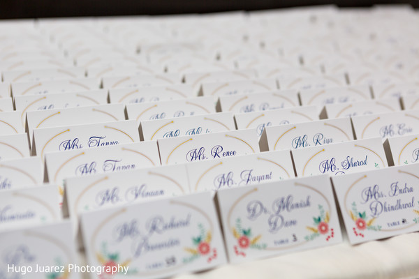 Indian wedding seating cards