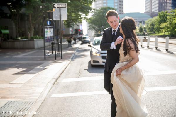 indian newlyweds fashion,indian bride fashion