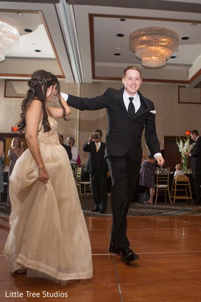 reception fashion,indian bride fashion,dj