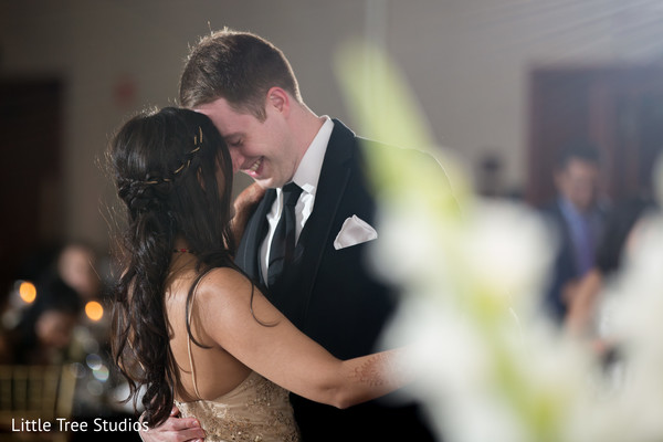 first dance,indian fusion wedding,wedding dj
