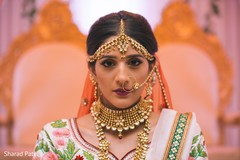 Inspiring indian bridal look