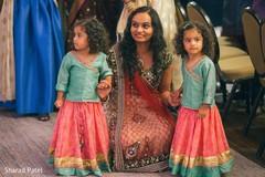 Adorable indian wedding flower girls