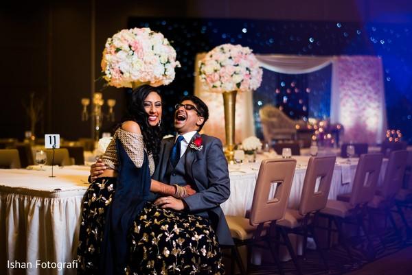 indian bride,reception,decoration,lightning