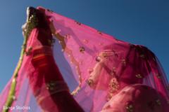 Marvelous Indian bride portrait.