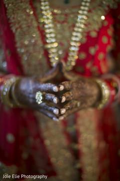 Hands detail of the beautiful mehndi designs