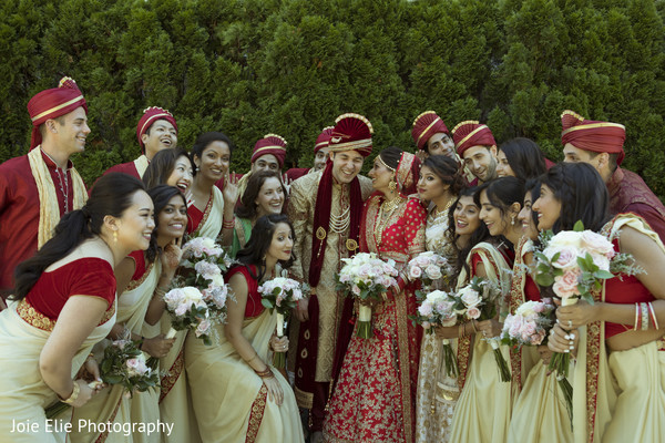 bridesmaids,indian wedding,groomsmen,outdoors