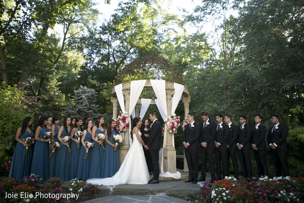 mandap,indian wedding,indian bride,bridesmaids