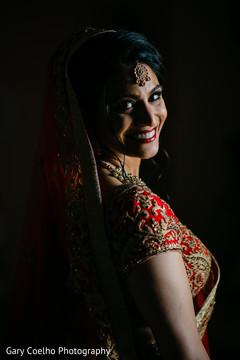 Dazzling indian bride photograph.