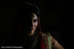 Glamorous indian bride capture.