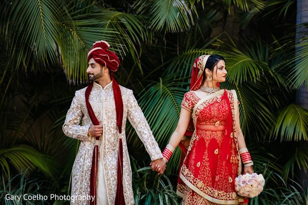 indian bride and groom,indian wedding ceremony fashion,maharani,maharaja