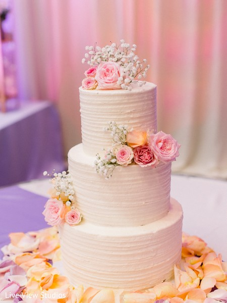 indian wedding,cake,decor,floral arrangement