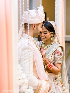 Details of the Indian couple's wedding wardrobe