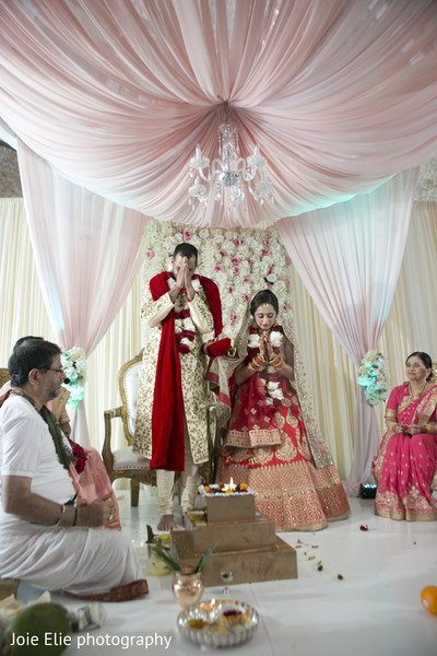Rituals continue for the Indian bride and groom