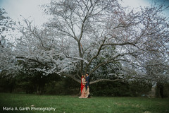 Lovely outdoor Indian wedding photo shoot.