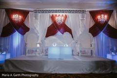 Fabulous Indian wedding stage decor.