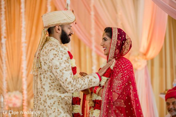Heartwarming indian wedding ceremony