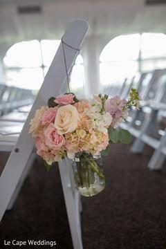 Creative indian wedding floral decor