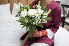 Gorgeous indian bridal bouquet
