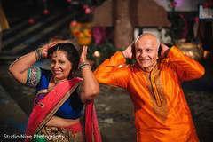 Fun capture of special guests dancing