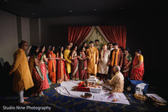 Details of the Indian wedding rituals prior to the ceremony