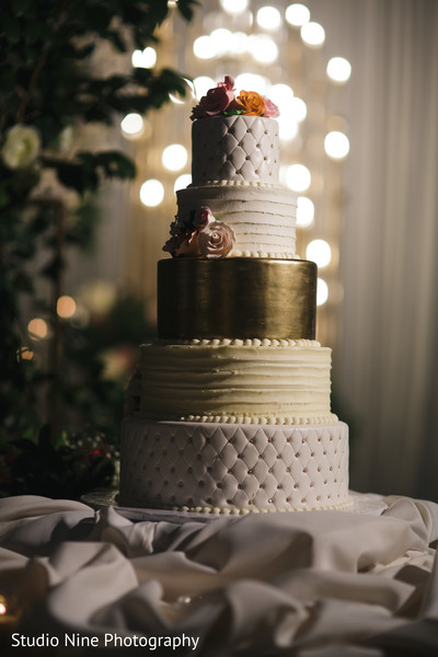 indian wedding,cake,reception,venue