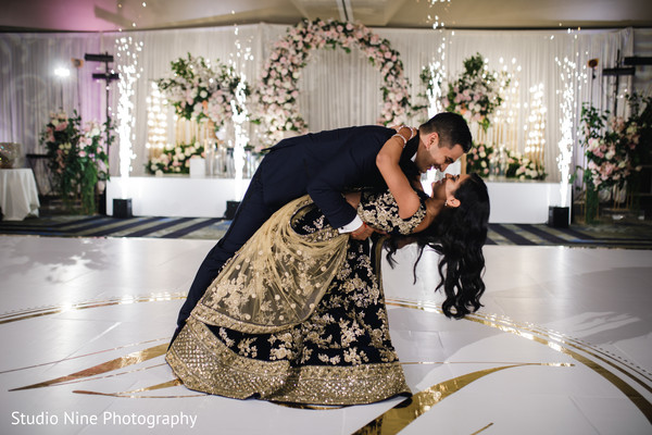 indian wedding,couple,newlyweds,venue