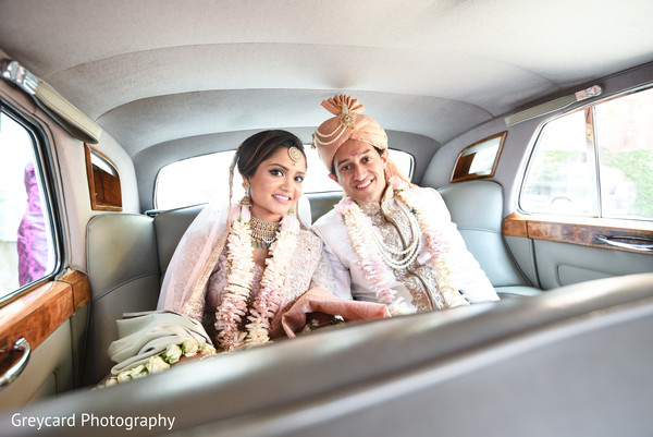 indian wedding transportation,indian bride and groom,indian wedding ceremony fashion