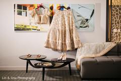 Beautiful shot of the maharani's wardrobe to be used at the wedding