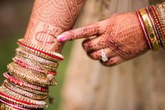 Maharani showing her beautiful mehndi design
