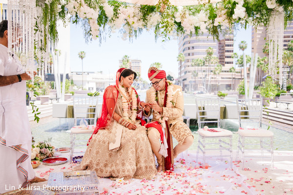 indian wedding,ring,ceremony,outdoors