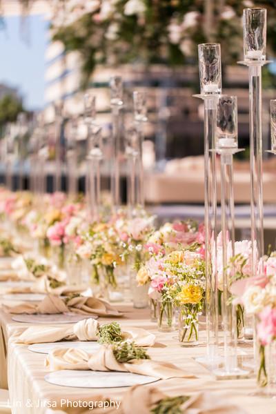indian wedding,reception,decoration,center pieces