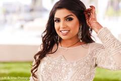 Beautiful maharani smiling for the camera