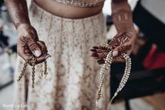 Marvelous Indian bridal polki.