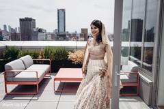 Stunning Indian bride  outdoors capture.