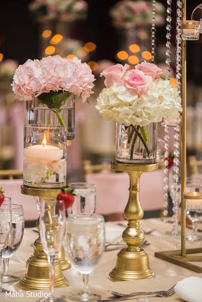 Elegant indian wedding table design