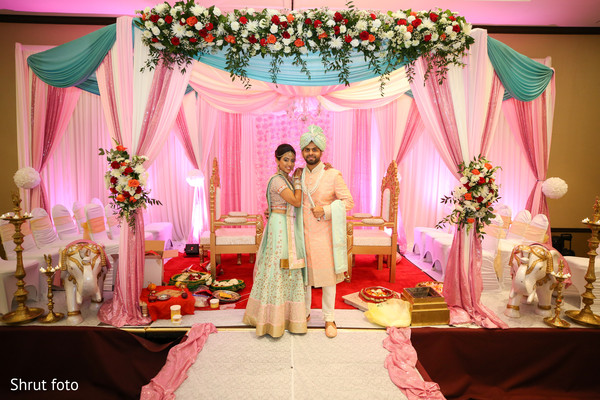 Beautiful venue decoration for the Indian wedding