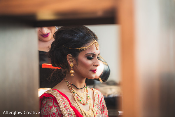 indian wedding,maharani,hair,tikka