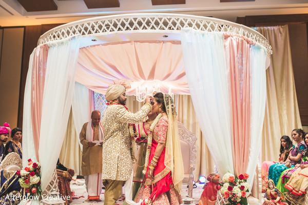 indian wedding,ceremonies,guests,indian couple