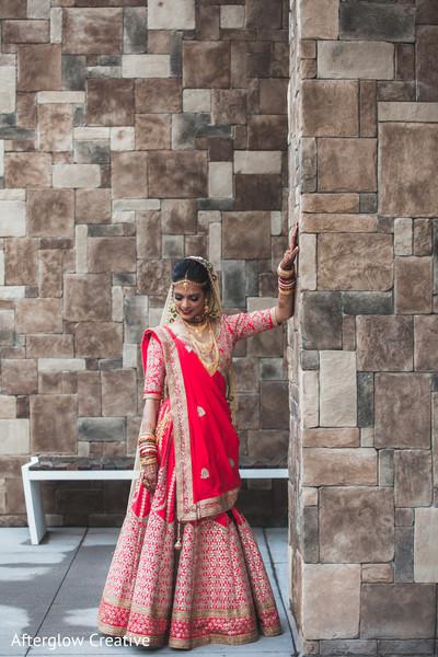 indian bride,outdoors,photo shoot,indian wedding