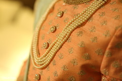 Details of the sherwani design wore by the groom