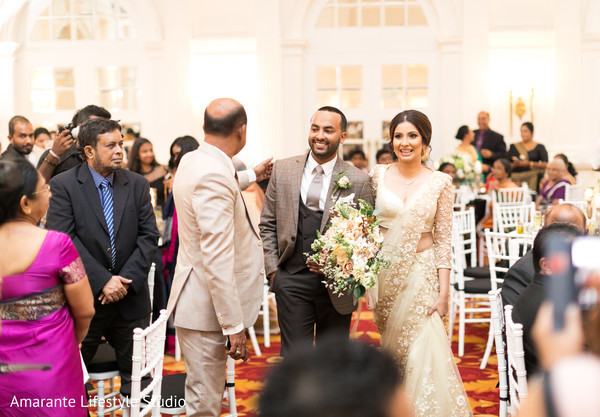 Indian couple meet moments before the ceremony