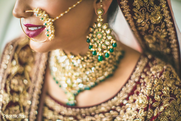 indian bride jewelry,getting ready
