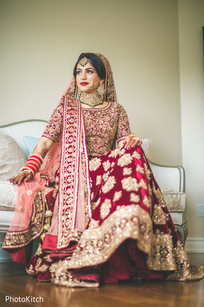 red lengha,bridal lengha,red and gold lengha