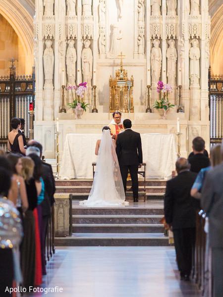 Maharani and Raja wedding wedding catholic ceremony capture.
