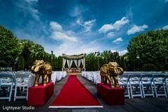 Spectacular indian wedding stage decor