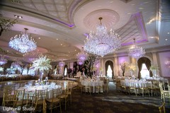 Wonderful indian wedding venue set up