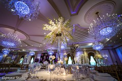 Beautiful indian wedding reception decor