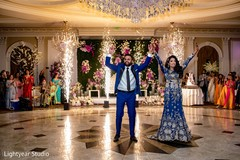 Indian wedding reception moments