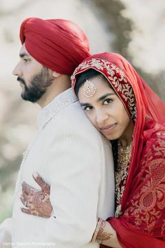 Amazing capture of the beautiful maharani holding her future husband